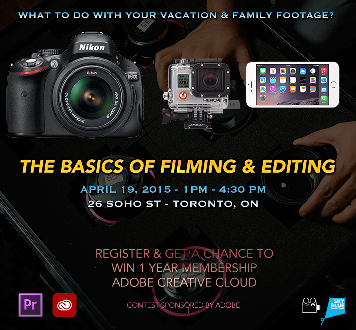 Basics of Filming & Editing